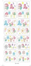 DS035 Water Transfer Foils Nail Art Sticker Cartoon Babys Design Manicure Decals Minx Nail Decorations Patch Cheap 2017