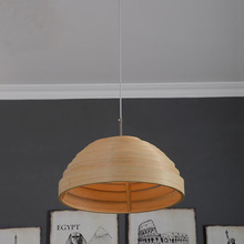 Factory direct pastoral style bamboo pendant lamp bedroom living room dining room   bamboo chandelier light