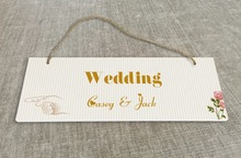 Personalized Outdoor Wedding Reception & Ceremony Decoration Directional Signs wedding sign board Rustic style SB021H