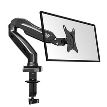 NB F80 27inch 2-6.5kg 360 rotate air press gas strut lcd tv table mount monitor gas spring screen desktop support desk bracket(China)