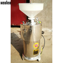 Xeoleo Peanut butter maker stainless steel Sesame butter maker 15kg/h Peanut butter machine 220V 2800W Refiner Grinding machine(China)