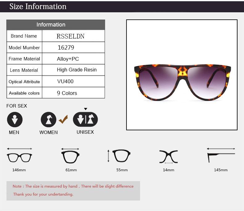 c6c27b4ea7 RSSELDN Newest Half Frame Sunglasses Women Brand Designer Square Sun  glasses Women Fashion Sunglass Men Blue Integrated ShadesUSD 6.83 piece