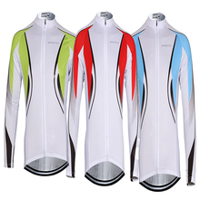 Cycling Men's Riding Breathable Reflective Jersey Cycle Clothing Long Sleeve Waterproof Windproof Jacket Tops 3 Colors