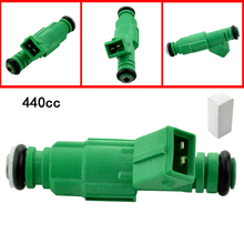 High Impedance 440cc Fuel Injector Fuel Spray Nozzle For Audi A4 S4 TT 1.8L 1.8T Volvo