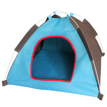 Hot sale Folding kennel Oxford Cloth waterproof  Foldable Dogs Cats Tent House Pets Fashion Outdoor Camping Home Travel House