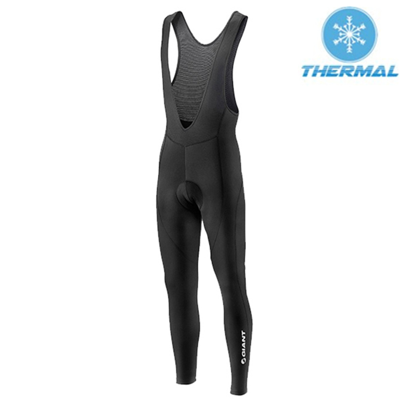 New Giant Pro Cycling Bib Pants Thermal Fleece Cycling Tights Winter Cycling Clothing Bottom Bicycle Ropa Ciclismo Unisex #RW-68<br><br>Aliexpress