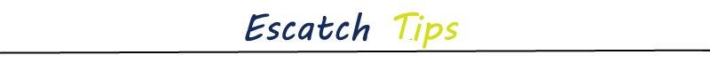 escatch tips