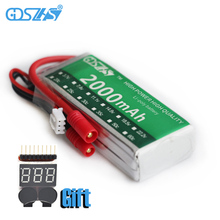 GDSZHS 7.4V 2000mAh 30C 2S Lipo Battery Banana Plug For Syma X8C Venture RC Helicopters Car Boats
