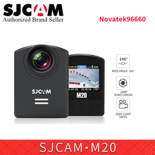 SJCAM M20 Wifi Gyro Sport Action Camera 2K 16MP waterproof sports video camera Car Dash Camcorder remote control watch /monopod(China)