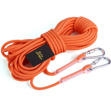 10M  Professional Rock Climbing Rope Cord 9.5mm Diameter High Strength Cord Safety Rope Outdoor Hiking Accessory