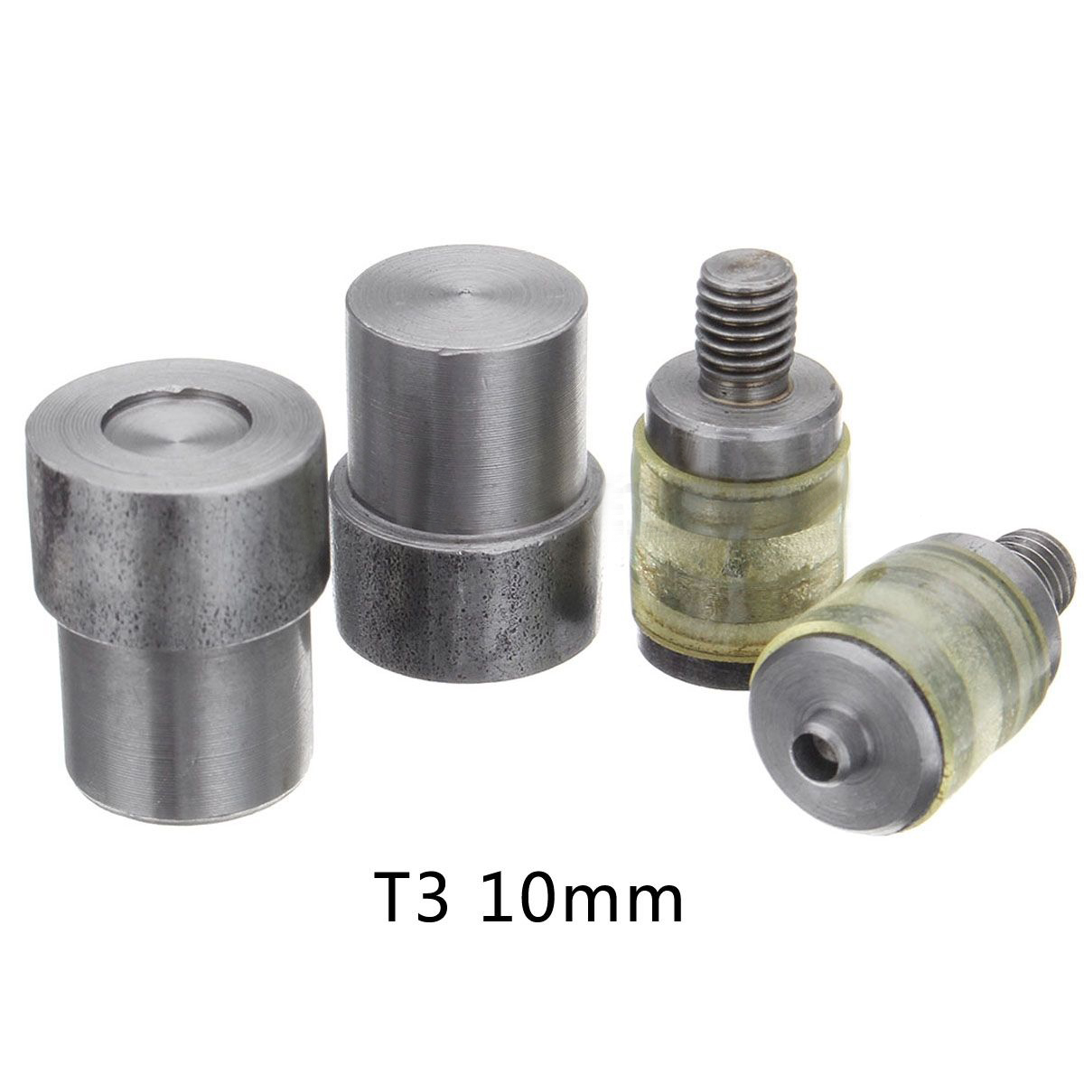 9.5-15mm Manual Claw snaps die Metal buckle installation Rivets Metal snaps.Press machine moulds Dies Button installation tool