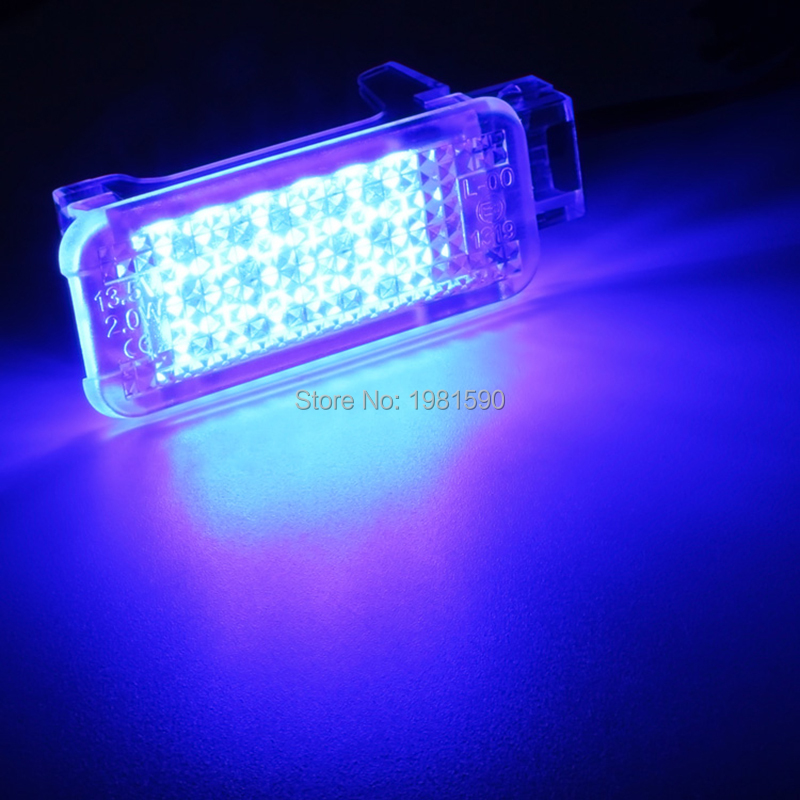 VW footwell courtesy step truck light LED red blue white (8)