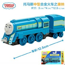 1:64 new style die cast  1 : 64 Diecast model Thomas and friends with hook trainmaster connor with truck