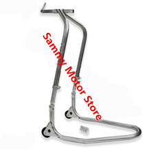 NINJA EX250 EX300 Street Stainless Steel Front Fork Crown Lift Motorcycle Paddock Stand(China)