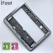 New LCD Front Holder Middle Plate Frame Bezel Housing+Side Button For Samsung Galaxy Note 10.1 N8000 3G(China)