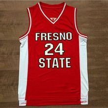 Paul George Fresno State #24 Jersey College Basketball Jersey Embroidery Stitched Custom Any Name and Number(China)