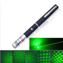 High Power Green Laser Pointer Pen High Quality 5mW Powerful 500M 532nm Projector Professional Lazer pointer Visible Beam Light