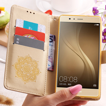 KISSCASE For Huawei P9 Lite P10 Case Flip Leather Cover For Huawei Ascend P9 Lite P10 For iPhone 7 6 6S Plus 5 5S SE Accessories