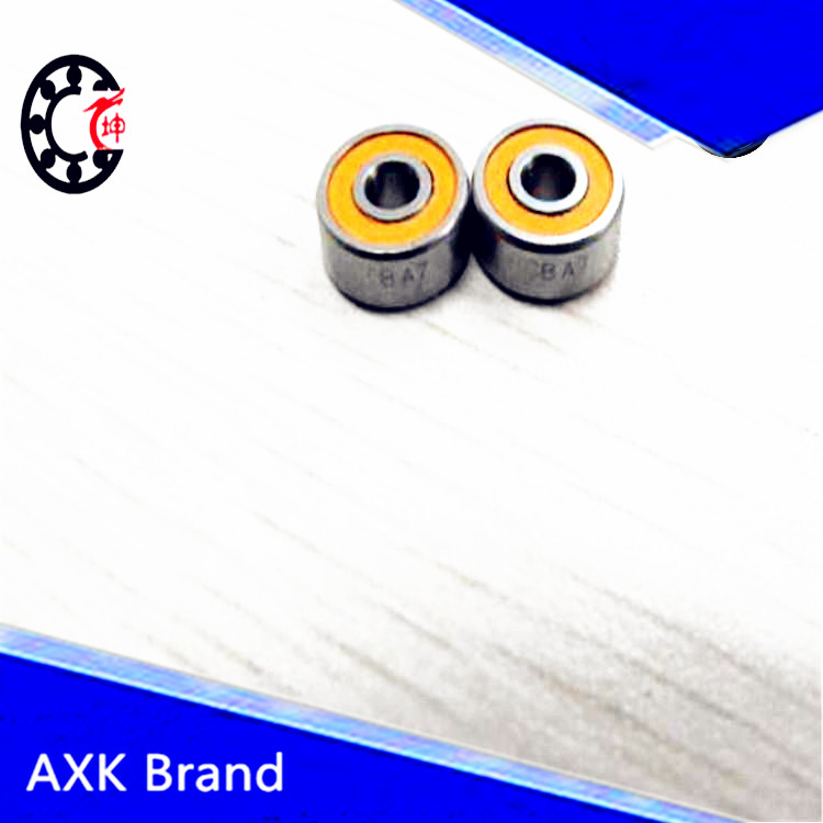 Free Shipping 12x28 x8 mm Hybrid Ceramic Yellow BIKE BEARING S6001 ABEC-5 NYLON CAGE<br><br>Aliexpress