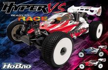 OFNA/HOBAO RC RACING The New 1/8 Hyper VS Buggy EP ARR (Ultra LX3e) 80% Assembled Competition level 1/8 Buggy
