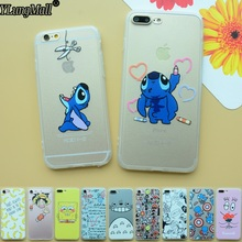 Funda for iphone 7 Case Coque for iphone 6 6s plus SE 5 5s Case Capa Stitch Totoro Cover for iphone 8 7 plus X Phone Cases Capas(China)