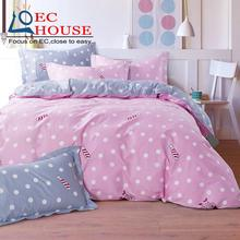 Four sets of special offer cotton bed four pieces of cotton 1.5/1.8/2.0m double bed  flannelette Kit FREE SHIPPING
