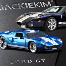 JADA 1:32 scale High simulation alloy model car,Ford GT Fast & Furious,quality toy models,free shipping(China)