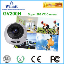 New design Camera 360 / 220 Degree Panorama Action Camera Wifi 1280*1024 Portable Mini Camcorder Sport Wide-Angle HD Video Cam