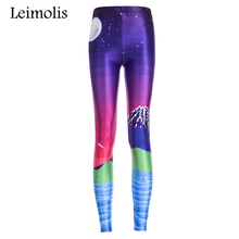 Buy Leimolis 3D printed pixel Fuji Mountain harajuku gothic sexy plus size high waist push fitness workout leggings women pants for $6.90 in AliExpress store