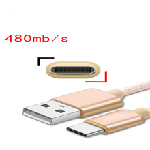 USB Charger Cable Type-c mobile phone aluminum alloy data cable for Samsung S5 mobile phone cable for xiaomi redmi 3 Note 3