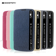 GOOSPERY Coque for LG K10 Phone Bag Case View Folio PU Leather Case Cover for LG K 10 Smartphone Protect Cases