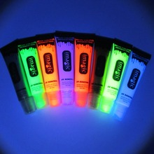 IMAGIC face body paint uv reactive lamp Party Body fluorescence makeup beauty Fluorescent paint neon colour