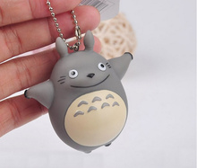 1X Plastic Toy , Gift Keychain DOLL Kawaii MY Neighbor TOTORO 5CM Approx. Pendant DOLL Key Hook TOY