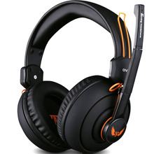 Gaming Headphone Big Headset  With Microphone Earphone Gamer Studio Bass Noise Isolating Brand Ovann 3.5mm x7
