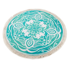 Large Microfiber Round Beach Towels Round Beach Pool Home Shower Towel Blanket Table Cloth Yoga Mat playa toallas Hot Sale 2017