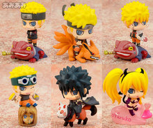 6CM 6pcs/lot PVC Q version Japanese classic anime figure Naruto action figure set collectible model toys for boys