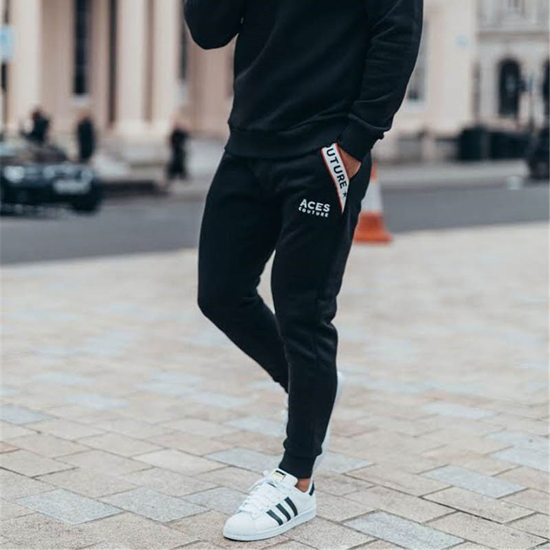 New boutique Brand Gyms Fitness Mens Joggers Casual Men Sweatpants Joggers Trousers Sporting Clothing Bodybuilding Pants men 4
