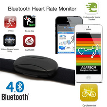 Cardio Fitness Bluetooth Smart Heart Rate Sensor Heart Rate Belt Strap iPhone ios for Sports Tracker, Wahoo Fitness, Runtastic