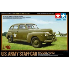 OHS Tamiya 32559 1/48 US Army Staff Car 1942 Military AFV Assembly Model Building Kits