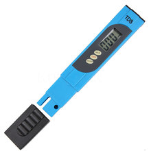 Digital LCD Water Quality Testing Pen Purity Filter TDS Meter Tester 0-9999 PPM Temp Pen for Aquarium Pool drinking water