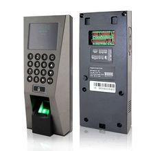 F18 Fingerprint Access Control Time Attendance Recognition System with TCP/IP English Version