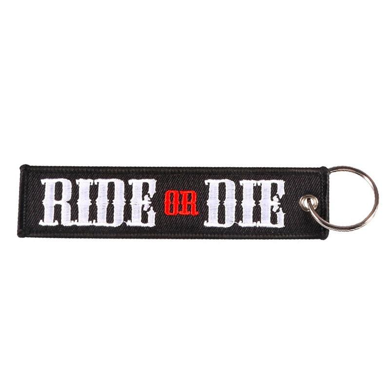 RIDE OR DIE MOTOCYCLE KEYCHAIN3