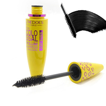 2017 New Brand Eyelash Mascara Makeup Kit Long Lasting Natural Curling Thick Lengthening Waterproof 3D Mascara(China)