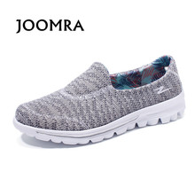 Joomra 2017 New Women Lightweight Soft Student Walking Shoes Durable Sporting Good Flexibility Comfortable Breathable Footwear(China)