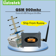 65dB 2G GSM Signal Repeater GSM 900mhz Mobile Signal Booster Amplifier Full Set with LCD display Yagi/Whip Antenna+10M Cable