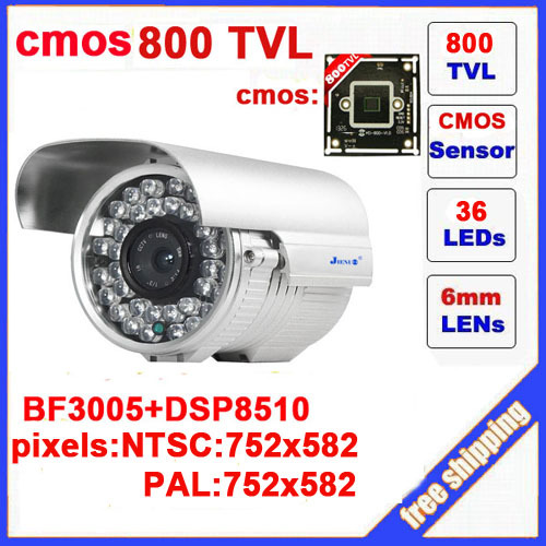 2014 sale rushed yes infrared video camera ccd 800tvl cctv camera bullet waterproof with ir-cut 36 leds outdoor security z550c<br>