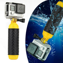SOONSUN Gopro Accessories Bobber Floating Pole Hand Grip for Gopro Hero 4 Session 5 4 3+ 3 2 SJCAM Xiaomi Yi Action Camera