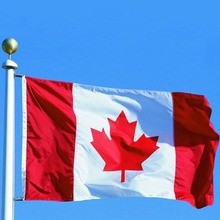 New 90*150cm Canadian Flag Canada Maple Leaf Banner Polyester Outdoor Flags Drop shipping(China)