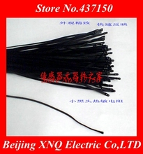 NTC thermistor high precision temperature sensor 10K 3950  1% black band line 300MM or 500mm