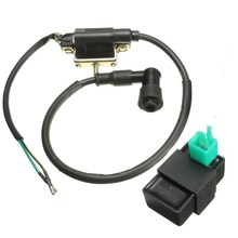 Ignition Coil & CDI For 50cc 70cc 90cc 110cc 125cc Chinese ATV Quad Gokart Dirt Pit Bike For Taotao /SunL /Roketa